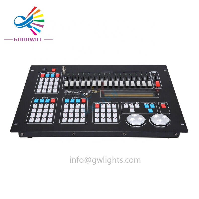 Professional Stage and Bar Lighting Control 1024 Dmx Controller