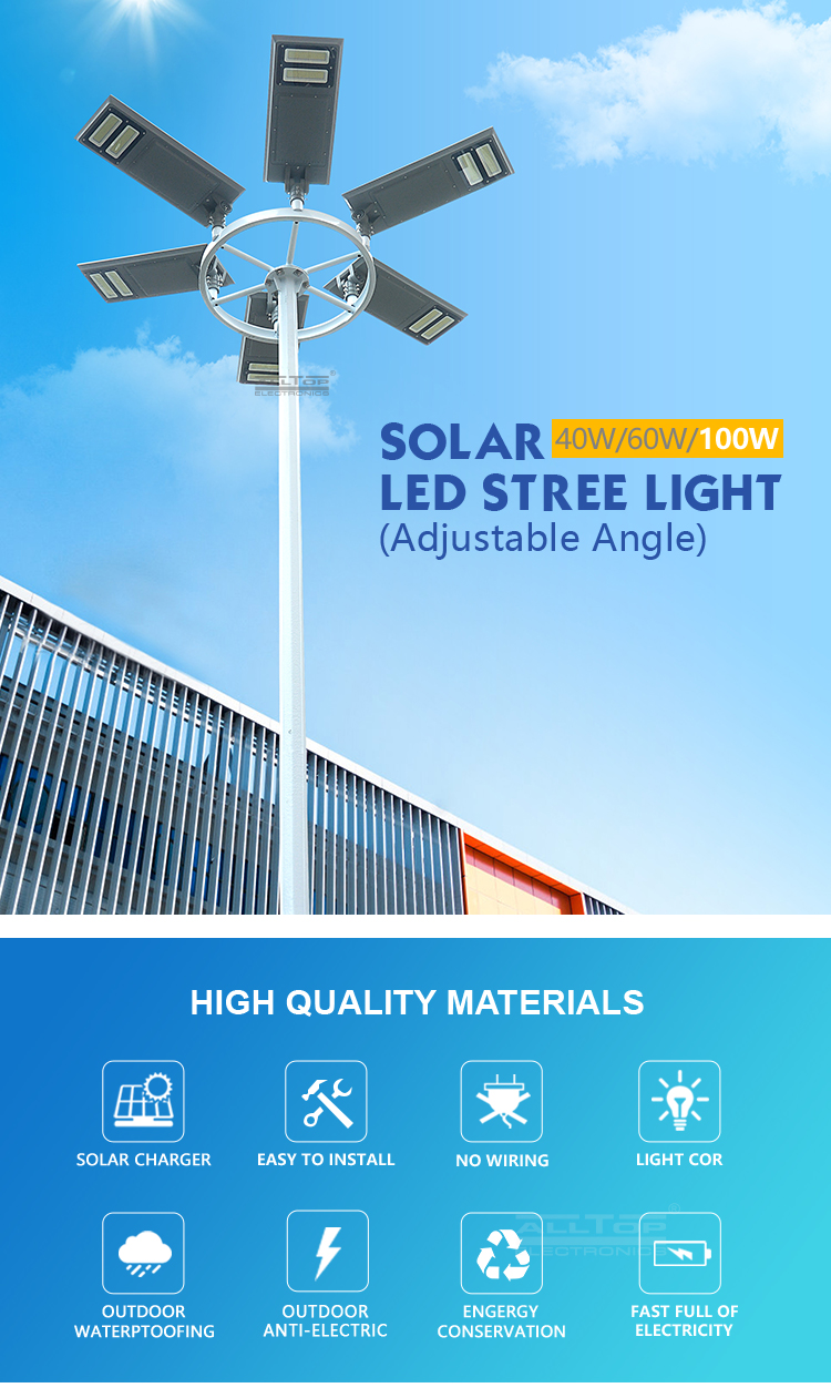 ALLTOP customized solar wall light functional wholesale-5