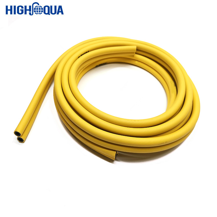 Good quality hot sale China yellow 8 mm  pvc air duct hose