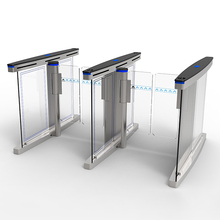 Security access control face recognition turnstile flap barrier/swing gate speed gate
