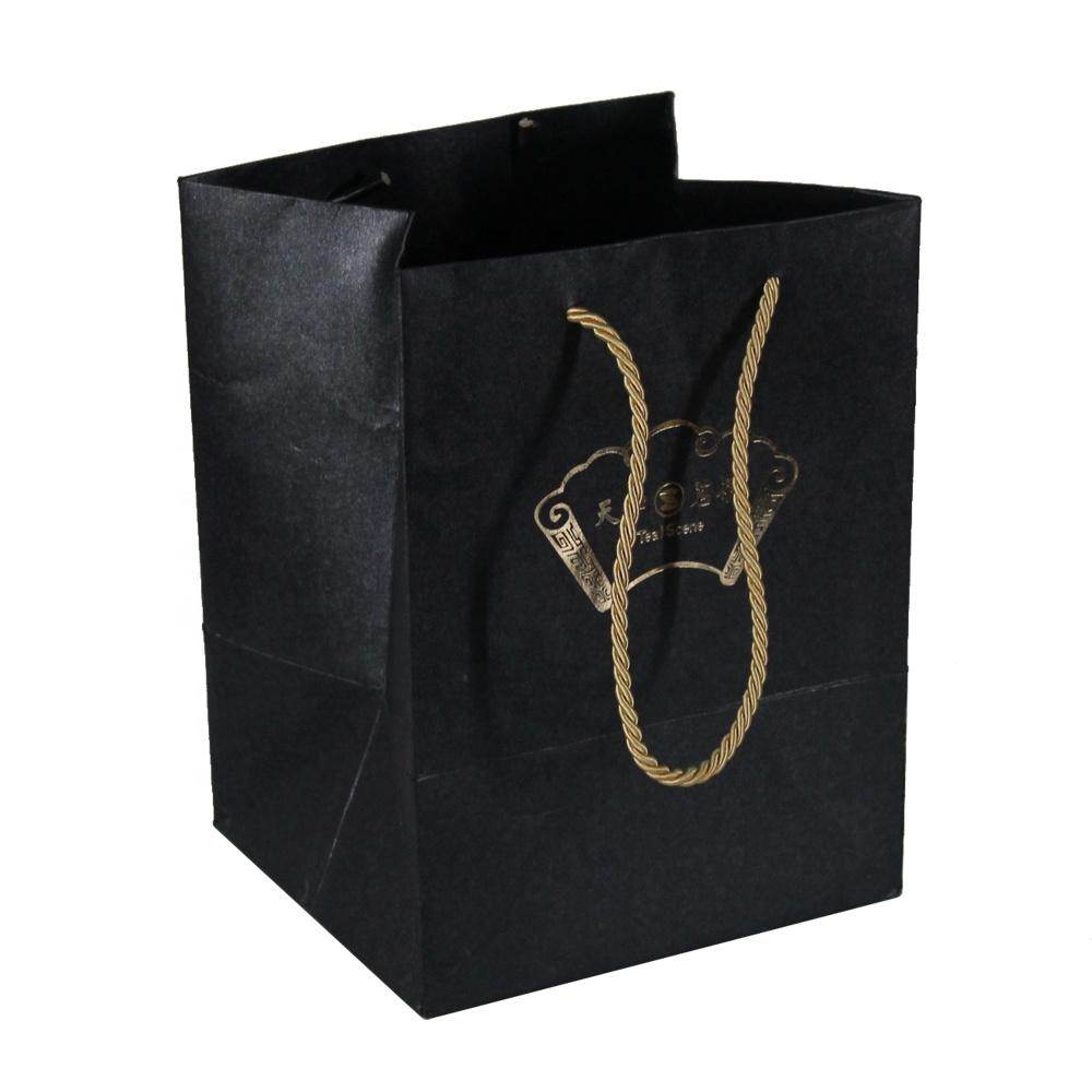 Best Price Black Bag Gift Paper Bags