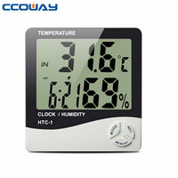 Highly accurate digital thermometer temperature recorder best hygrometer