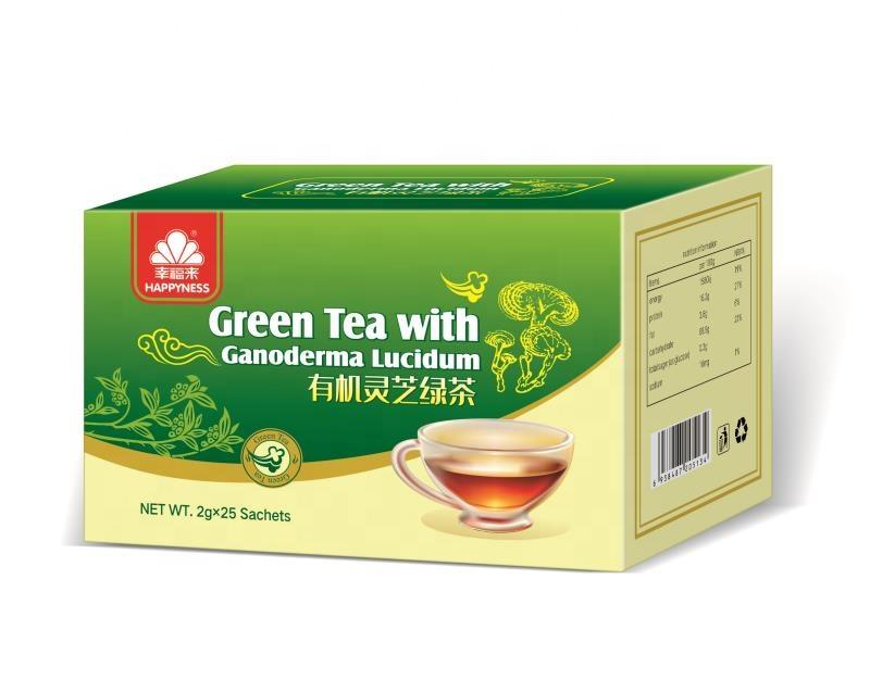 Herbal Reishi Extract Black Tea Green Tea With Mushroom Extract,Oem/Private Label Service - 4uTea | 4uTea.com