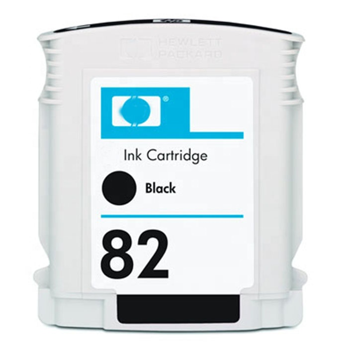 original new for Hp 82 ink cartridge For hp500 510 800 820 ink box 69ML axial flow fans 45 printer ink cartridge