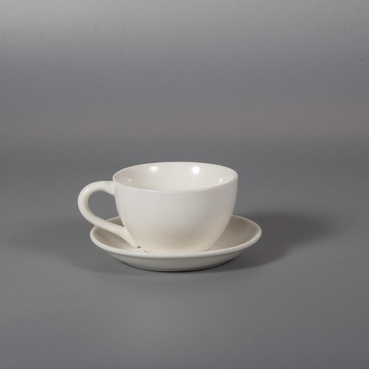 ceramics cup and saucer set