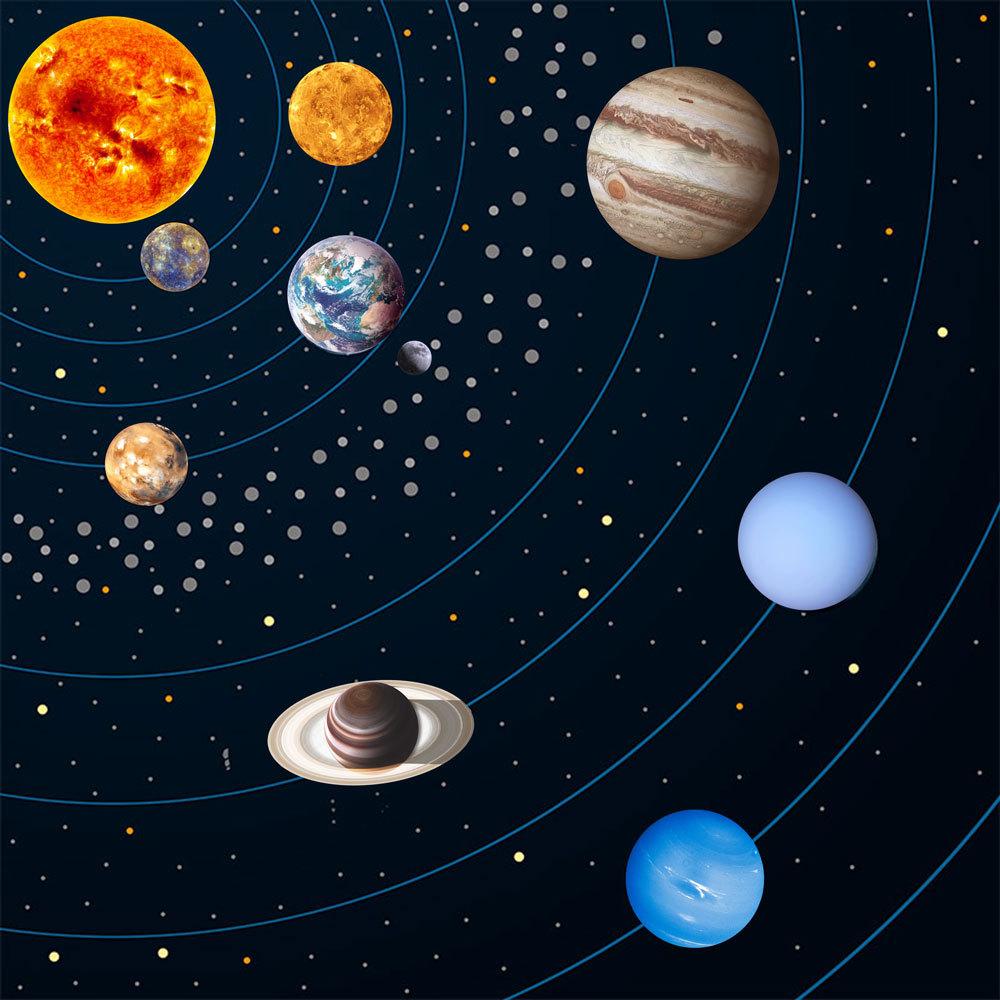 Картинки космос планеты солнечной системы