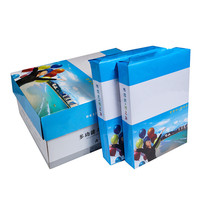 Hot sale promotional excellent white paper printing a4 size 70 gsm 80gsm 500 sheets copy paper