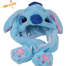 Lovely baby kids kind pluche leuke mooie animal ear moving bunny oor <span class=keywords><strong>hoed</strong></span>