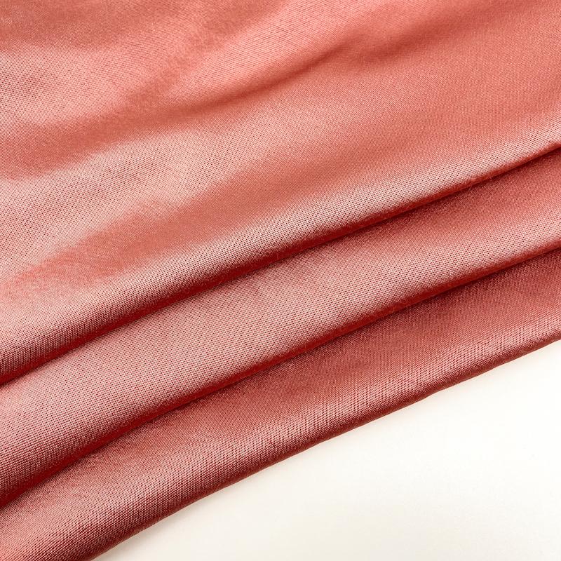 NO MOQ  viscose rayon satin dyeing fabric stock