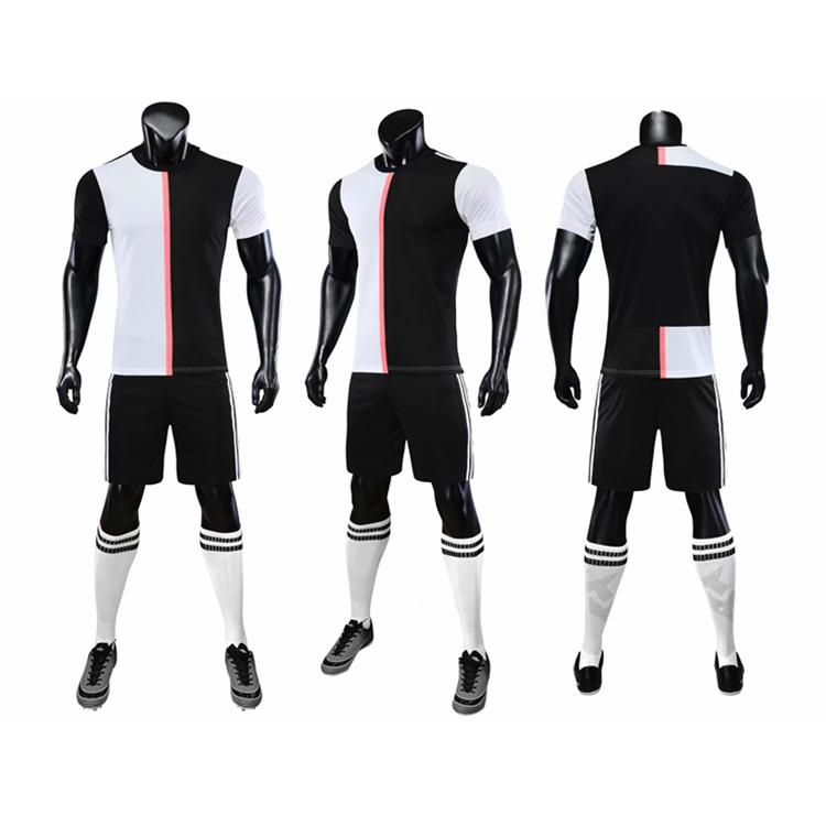 OEM Best ขายเสื้อยืดทีมฟุตบอลเจอร์ซีย์ฟุตบอลชุดฟุตบอล + สวมใส่ Made In China