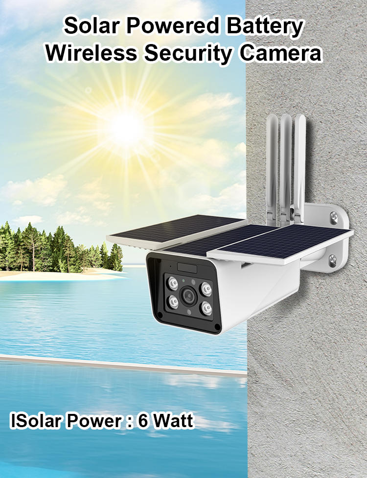 High quality ip67 Waterproof long standby 1080p outdoor wireless security camera