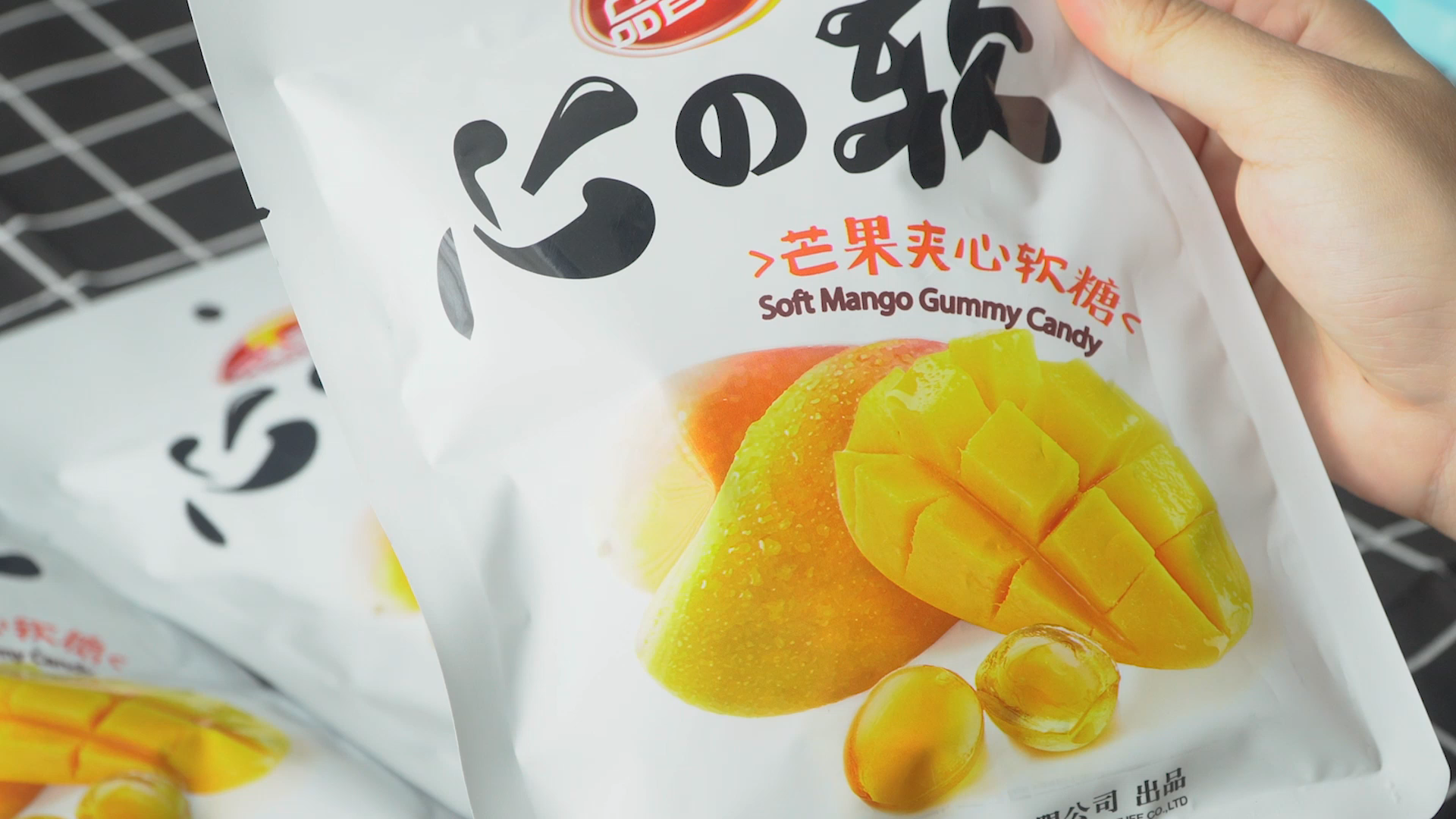 New product hainan specialty rich mango flavored fizzy soft candy and sweets