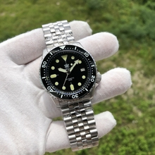 SD1996AC Steeldive Stainless Steel Penyelam <span class=keywords><strong>Jam</strong></span> <span class=keywords><strong>Tangan</strong></span> Mens Kustom Logo 20ATM NH35 Otomatis Penyelam Watch