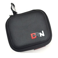 Ear Bud Headset Headphone Custom Eva Storage Carrying Case, Earphone Pouch Bag With Carabiners