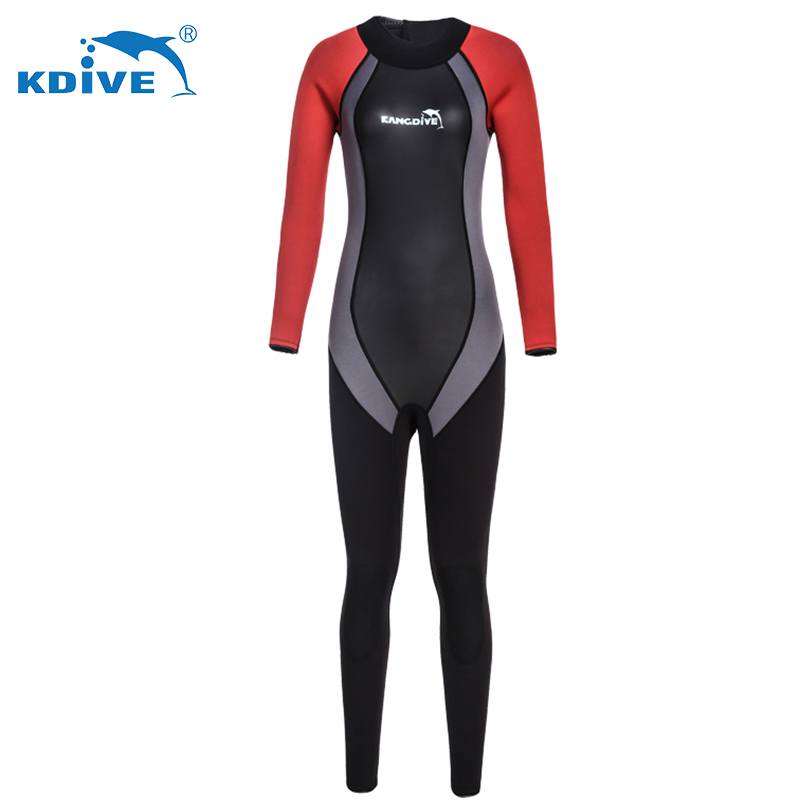 Factory direct sale oem service 3mm swimming diving women wetsuit