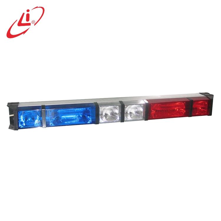 LIYI Waterproof Halogen And Xenon Directional Light Police Emergency Lightbar