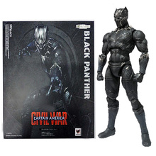 <span class=keywords><strong>Pantera</strong></span> <span class=keywords><strong>negra</strong></span> garage kits modelo SHF movable joint action figure brinquedos