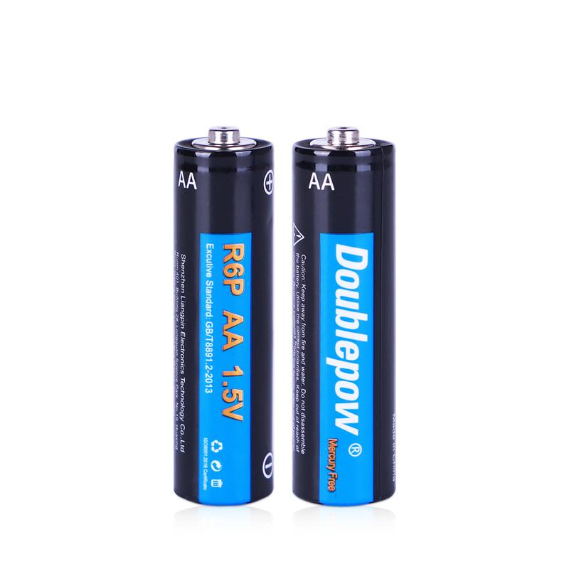 Acquistare dimensione di Massa AA R6P UM3 di zinco carbonio a secco batterie da 1.5v per i giocattoli