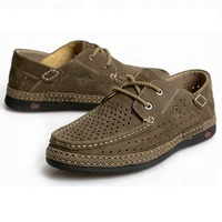The best material brand crafts soft breathable durable brown leather shoes