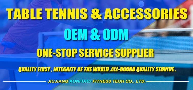 Asli Pabrik Kustom Ping Pong Court Mengelilingi, Grosir Tenis Meja Court Aksesoris