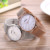 Hot sale women's fashion shell dial stainless steel back Japan movt quartz watch