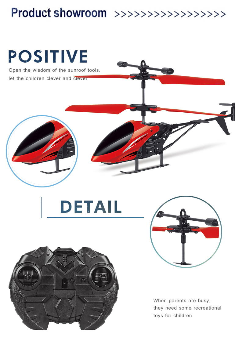 High quality infrared 3.7v flying model toys remote control helicopter