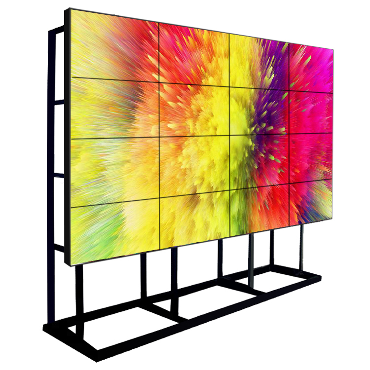 55 inch 3x3 multi screen panel grote display monitor naadloze 1920x1080 4k hd indoor ultra smalle bezel LCD videowall