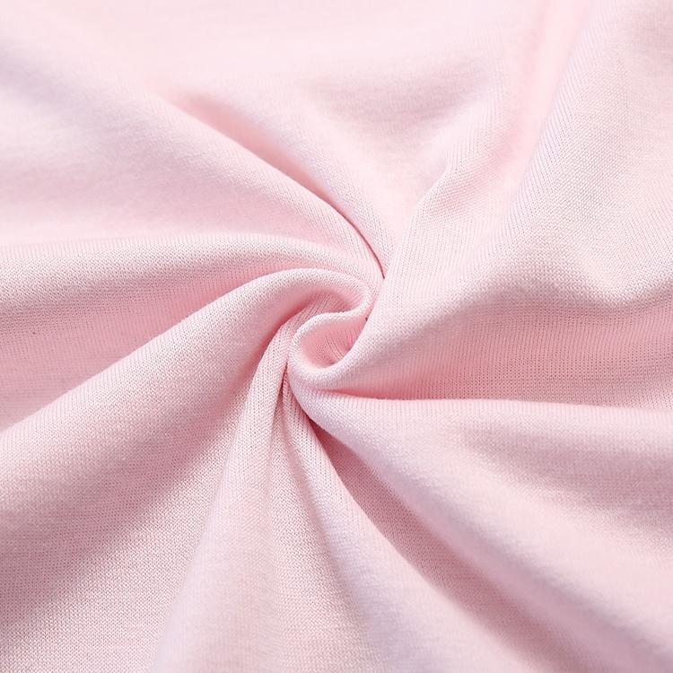 Эластичный шелк хлопок смесь леди вязать шелк нижнее белье ткань