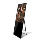 portable LCD Digital Signage 43 inch portable totem display advertising sign holder lcd screen led display for advertising