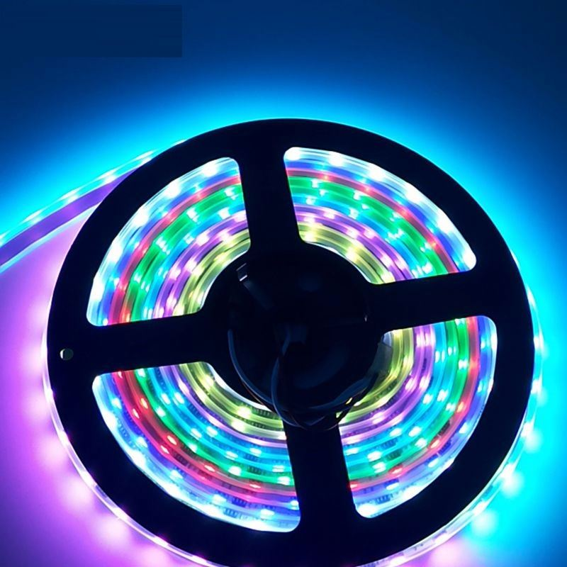 Wholesale Waterproof dmx 12V 24V Pixel Programmable Digital Addressable 5050 RGBW <strong>RGB</strong> WS2811 WS2812 WS2812B WS2813 LED Strip