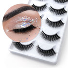 2020 super popular natural false eyelash 5 pairs 3D natural thick false eyelash