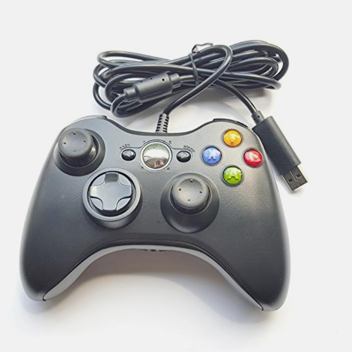 Black Gamepad for Microsoft <strong>Xbox</strong> <strong>360</strong> <strong>Controller</strong> Wired Joystick Joy Pad USB Game Pad <strong>Controller</strong> For <strong>Xbox</strong> <strong>360</strong> console and PC