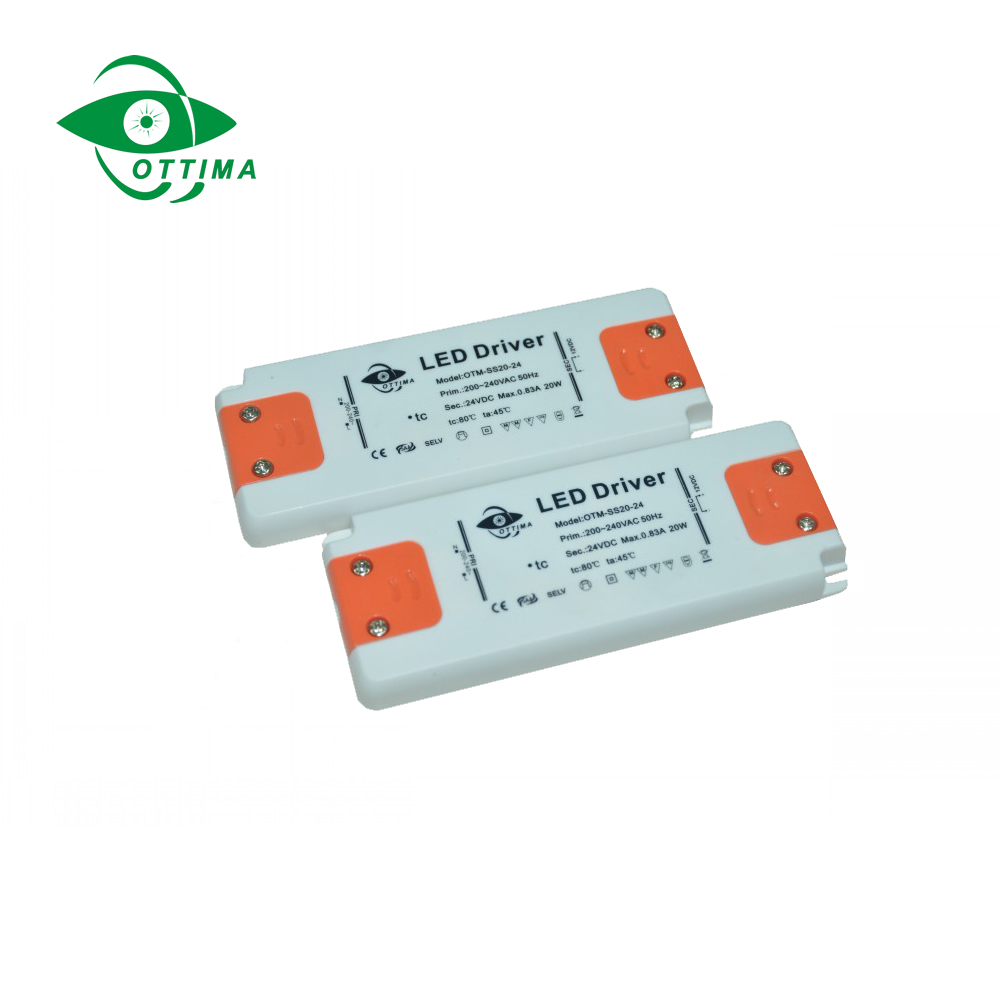Slim LED Driver / Power supply for LED strip with TUV approval