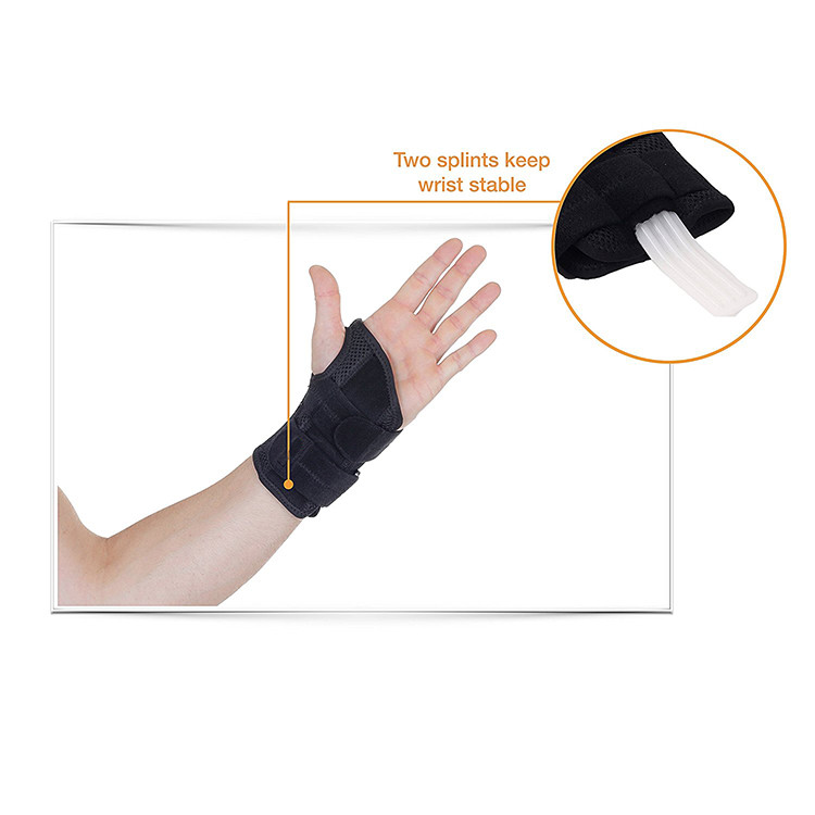 2018 Amazon wholesale wrist wraps wrist brace support splint for carpal tunnel for weight lifting