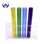Wholesale custom high quality low price kinds of colors colored borosilicate glass tube price