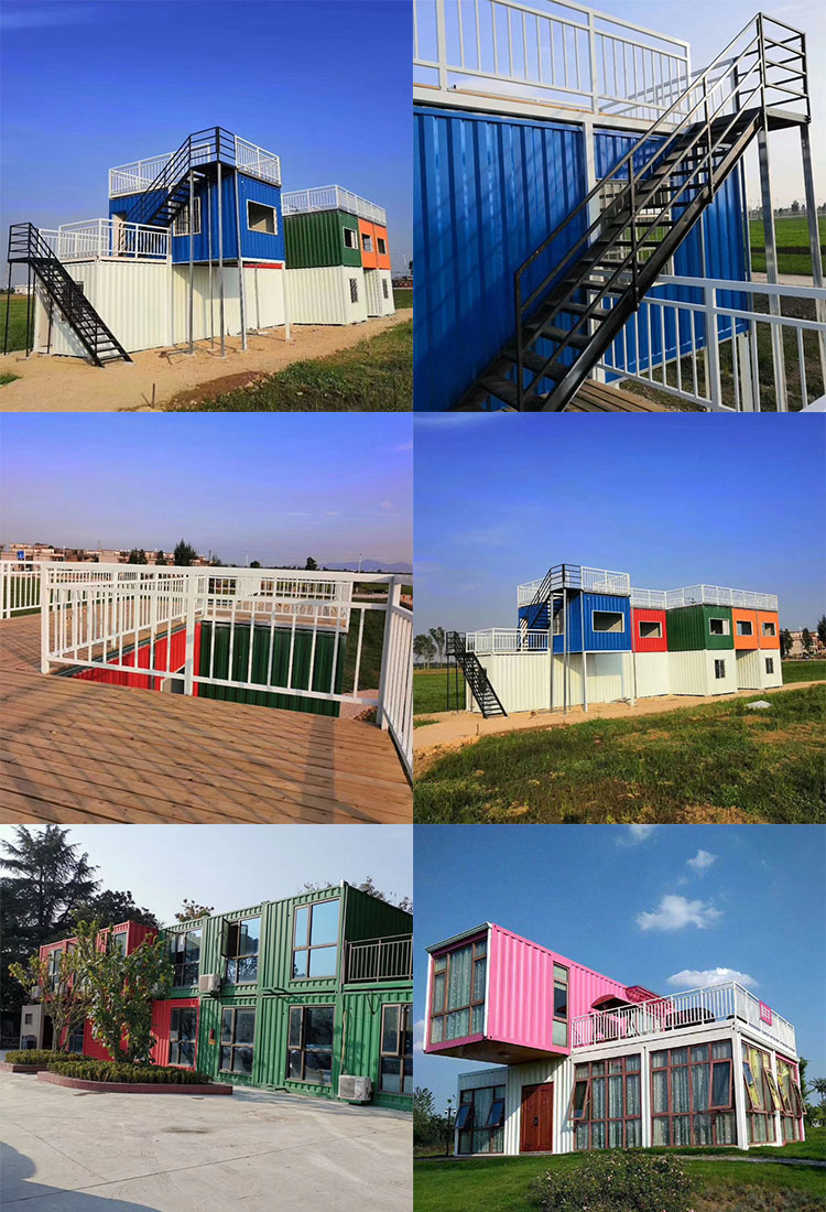 High quality customized 20ft 40ft expandable cargo container load bar prefab house cafe beach bar restaurant design for sale