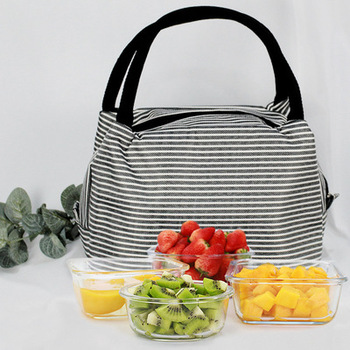 customized waterproof oxford student lunch delivery bag outdoor picnic cooler bag
