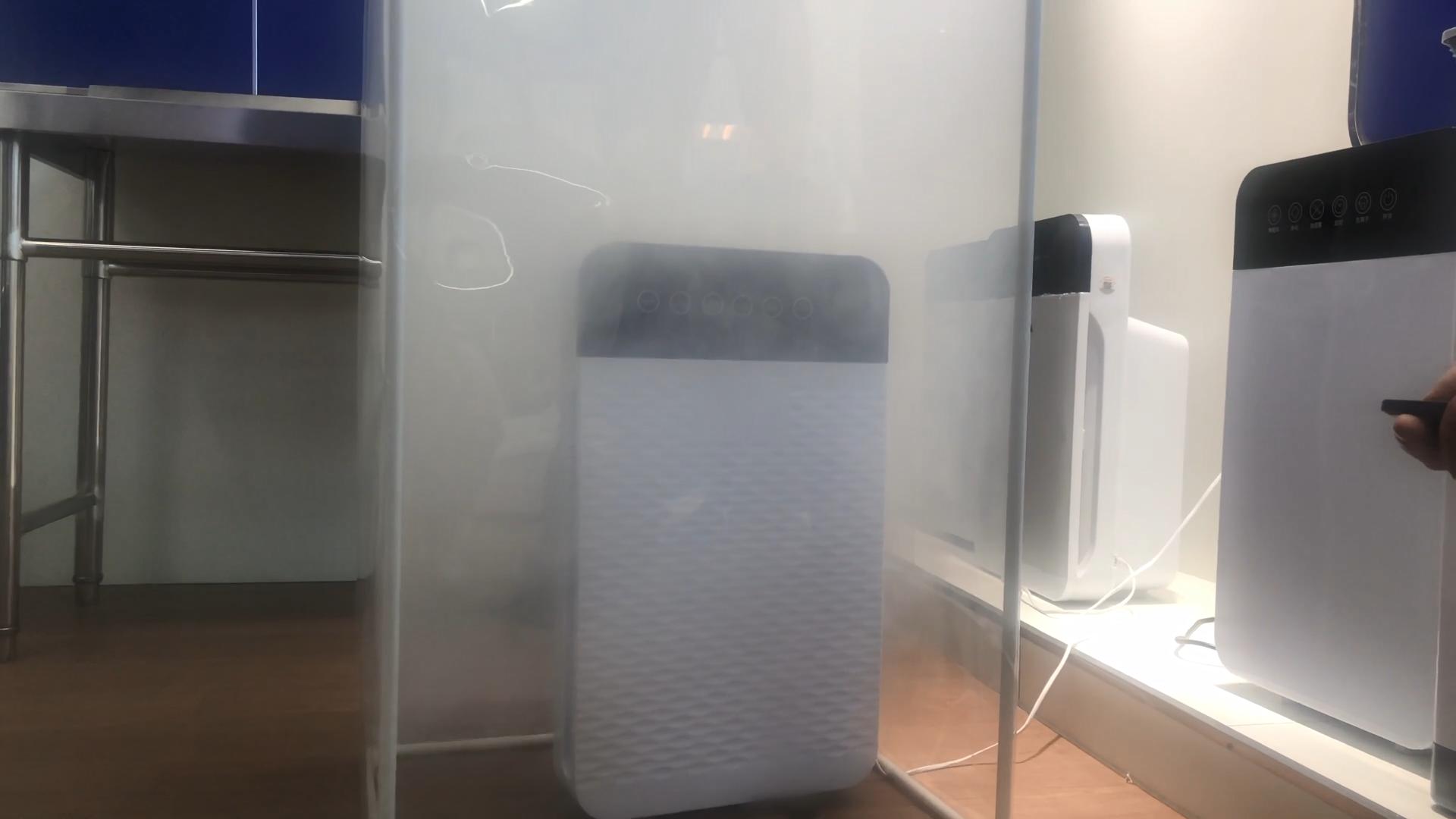 رخيصة المنزلية purificador دي اير المحمولة ايون الأوزون الذكية المنزل استخدام فلتر hepa لتنقية الهواء مصغرة للبيع