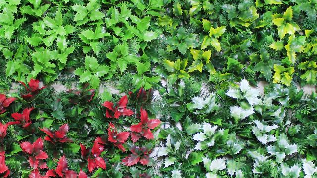 Фон для фотографирования с изображением рождественских наружные ограждения настенное украшение искусственный устойчивость к погодным изменениям Трава стены
