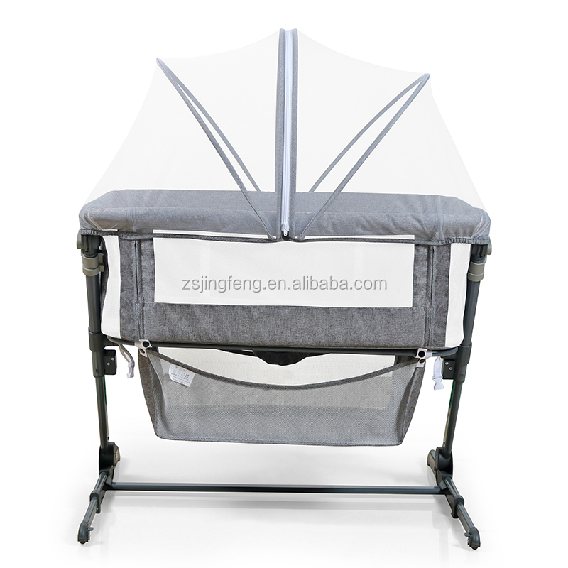 2020 High Quality New Design European New Born Foldable Baby Cot Portable