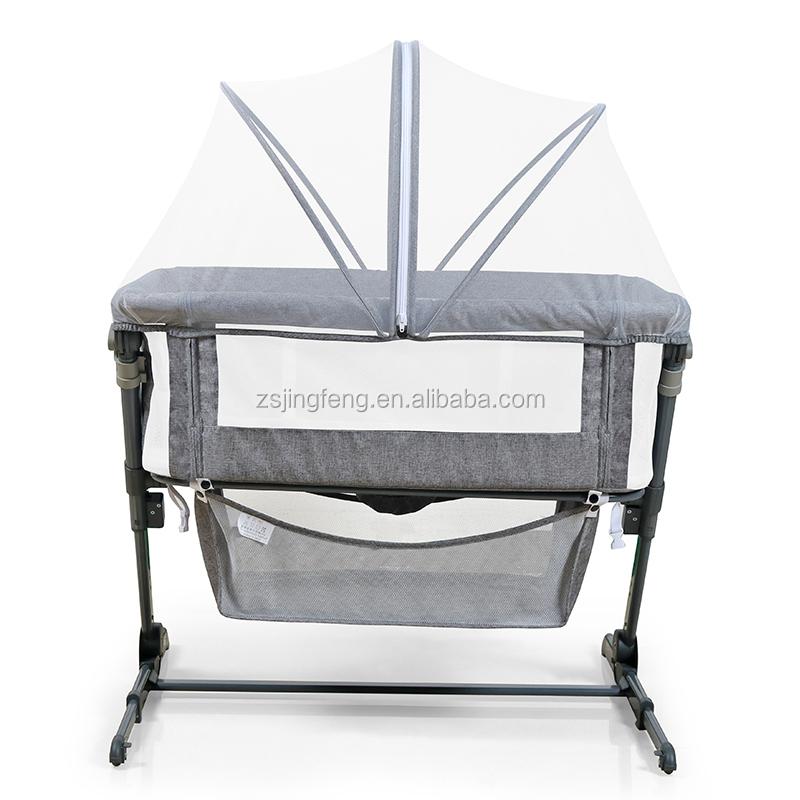 Hot Sale Passed EN 1130:2019 Multifunction Foldable Sleeper Baby Portable cot