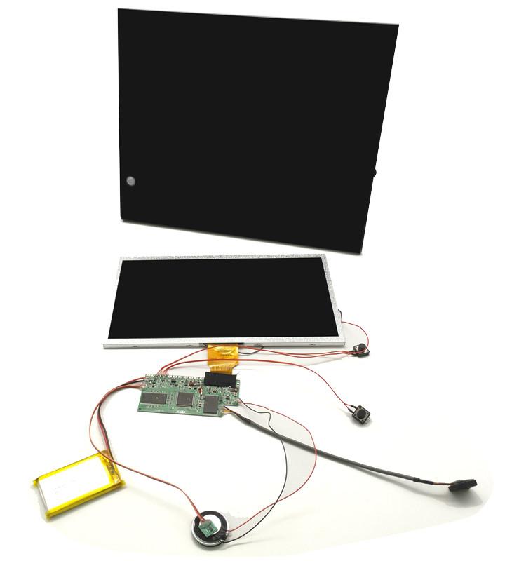 Rohs จอแสดงผล Lcd โบรชัวร์การ์ดจอ Touch โมดูล