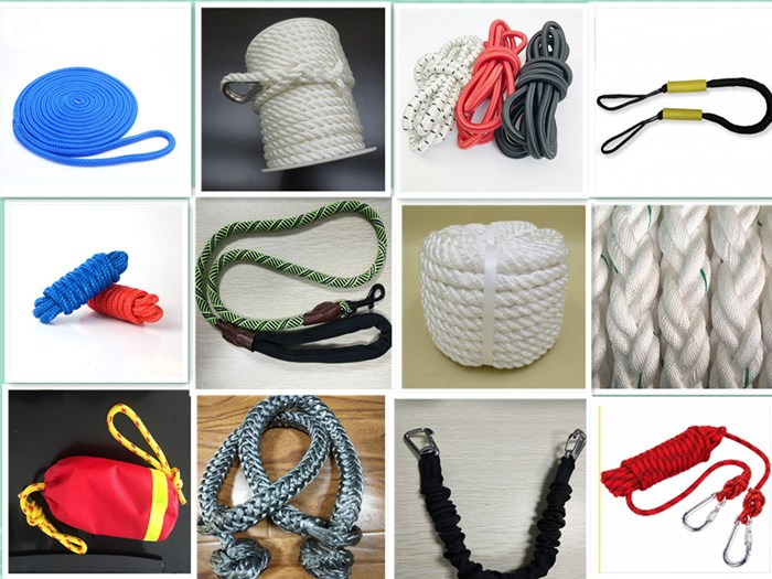 New Products Hot Selling Colored Braided Twisted Rope For Packing