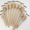 wood honey dipper stick spoon