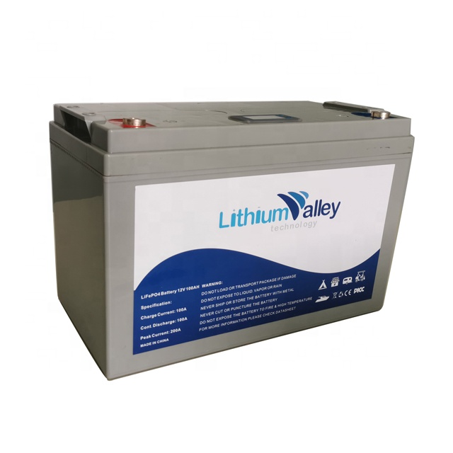 BMS built-in Long life RV lifepo4 12v 100ah deep cycle lithium ion <strong>batteries</strong> lifepo4 <strong>battery</strong> pack