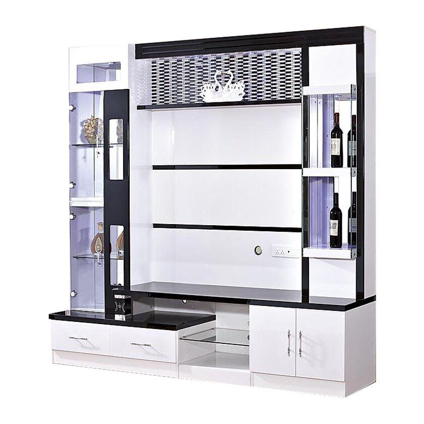 Wood Tv Units Mdf Living Room Furniture