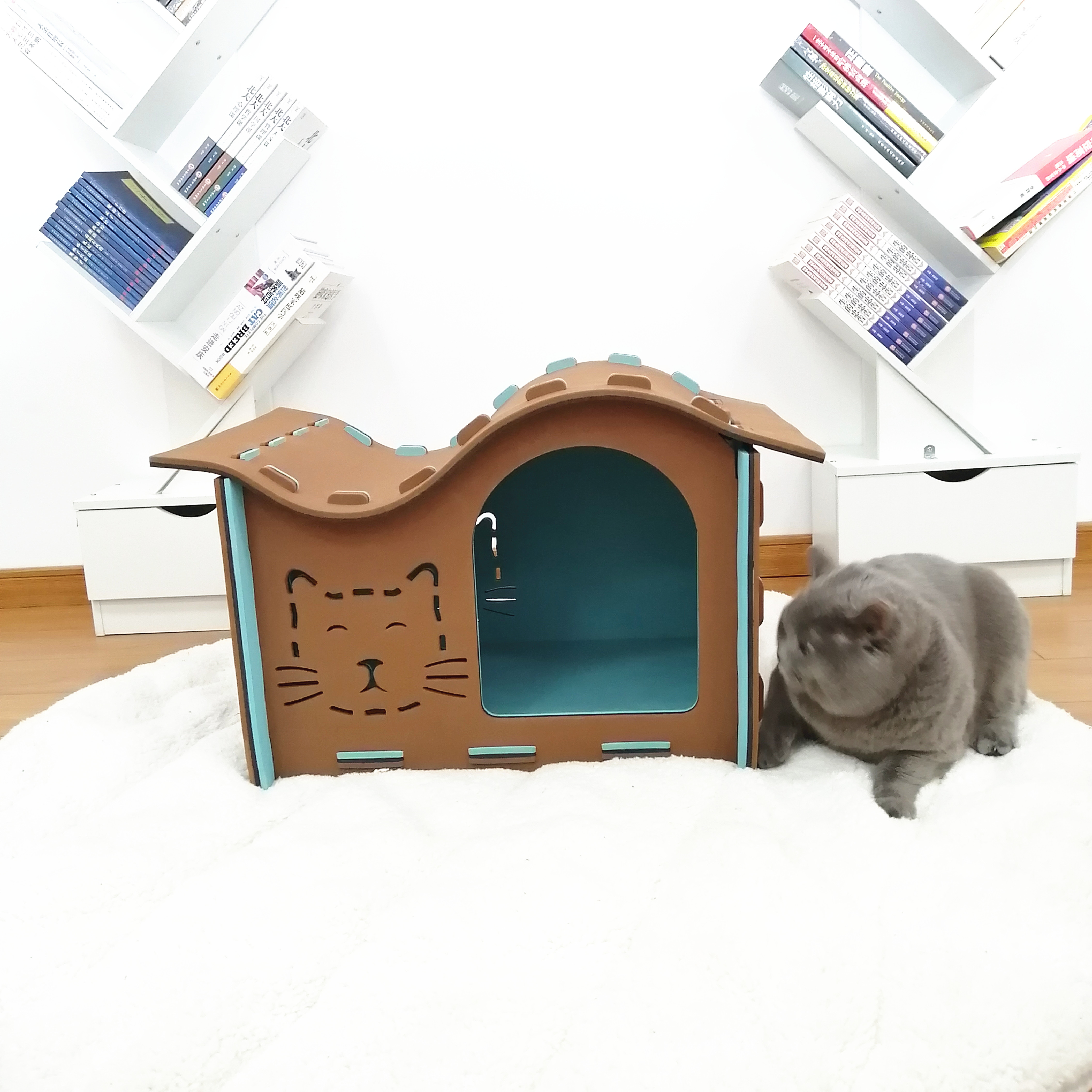 Hot Sale Indoor Cheap Movable Portable Dog Cat Houses For Large Dogs Buy Cheap Dog Houses For Large Dogs Cheap Movable House Cheap Portable Cat House Product On Alibaba Com