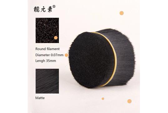 Venta directa de fábrica de Color negro Tapered PBT de pestañas filamentos
