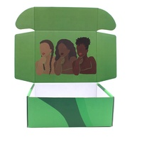 custom logo corrugated paper box carton folding shipping cardboard gift packaging mailer boxes