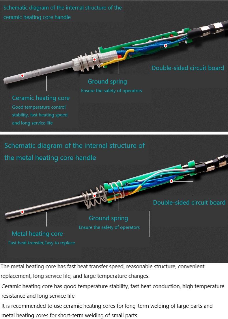 BAKON SBK907b apply to SBK936 soldering handle